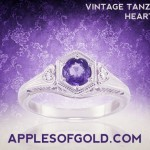 Vintage Tanzanite Rings: A New Stone for Time-tested Styles