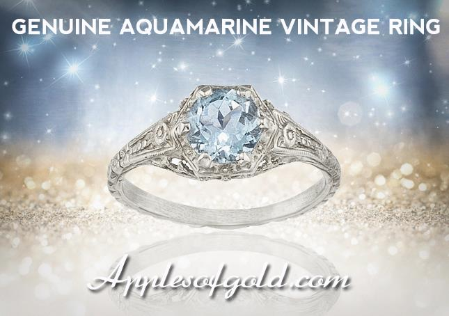 03-19-2013 aquamarine vintage ring