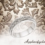 Floral Wedding Band Rings for a Love that's in Bloom