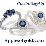 Sapphire Rings to Celebrate Longer Evenings