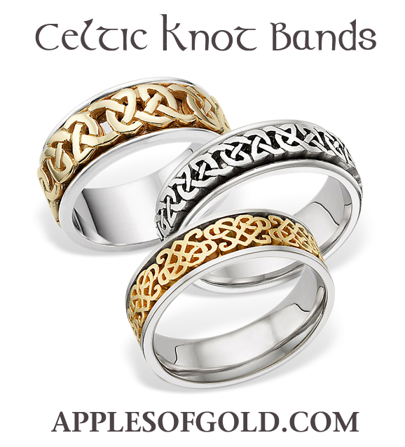 Celtic Wedding Rings Designs Inspired By The Homeland Of St Patrick
