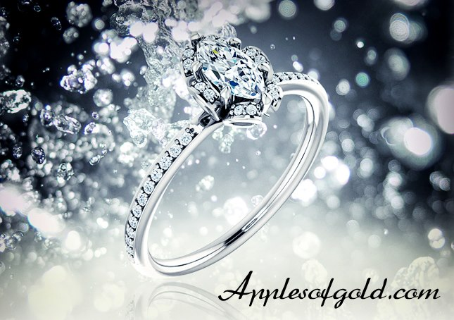 02-26-2013 Floral-Inspired Marquise Diamond Ring