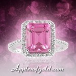 Bold Pink Topaz Rings To Brighten Rainy April Days