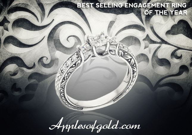 Top Diamond Engagement Rings for Todays Brides ApplesofGoldcom