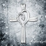 White Gold Crosses for Women of Faith