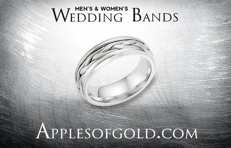 Wedding Bands that Work for Both Men and Women ApplesofGoldcom