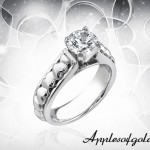 Diamond Rings with Heart