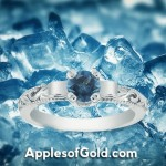 London Blue Topaz Rings: Rich Color to Complement Spring Pastels