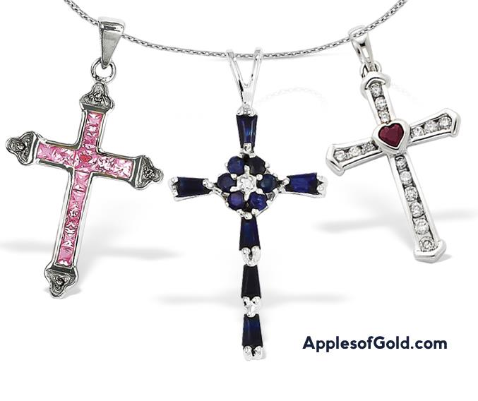 05-09-2013 women's gemstone crosses