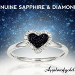 Sapphire and Diamond Rings: Adding Contrast to the Navy Trend