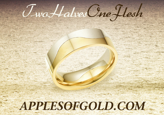 Subtle Symbolism Wedding Bands with Beautiful Designs and