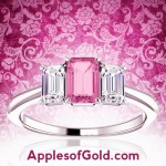 Pink Sapphire and Diamond Rings: Three Ways to Wear this Glamorous Combination