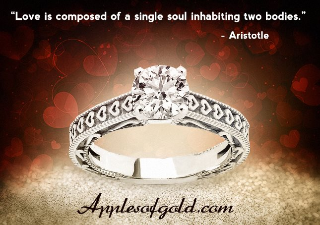 05-24-2013 Engraved Heart Diamond Ring