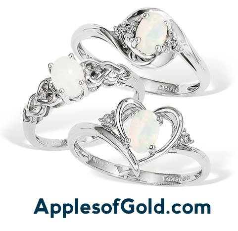 Genuine Opal Rings: Subtle, Shimmering Sophistication