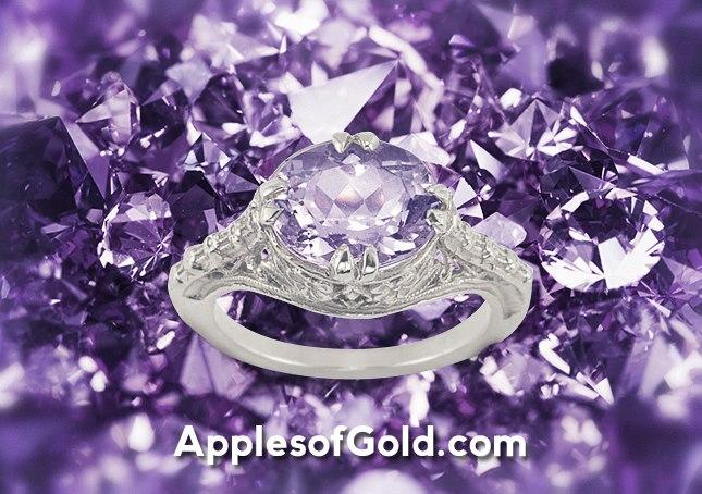 05-31-2013 Vintage Amethyst Ring