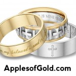 Bible Verse Wedding Bands: Dual Symbolism