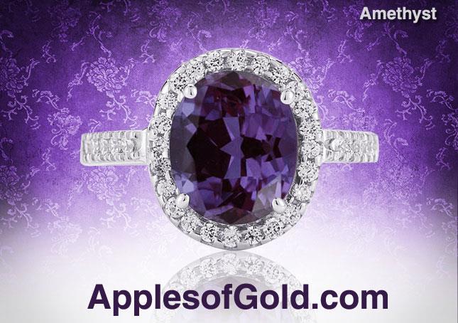 08-08-2013 amethyst rings