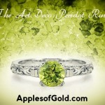 Vintage Peridot Rings: A Bright Splash of Color for Time-Tested Styles