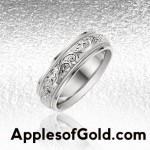 White Gold Wedding Bands: Classics for a Reason