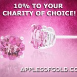 Buy Pink Jewelry and 10 Percent Goes to Your Favorite Charity!