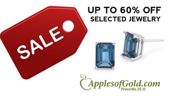 Jewelry Sale, up to 60 percent off