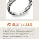 Best Selling Engagement Rings of 2013 with Infographic