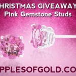 Christmas Sweepstakes: Win a Pair of Pink Topaz Studs!