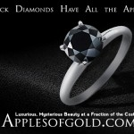 Black Diamond Engagement Rings: Luxury and Mystery on a Budget