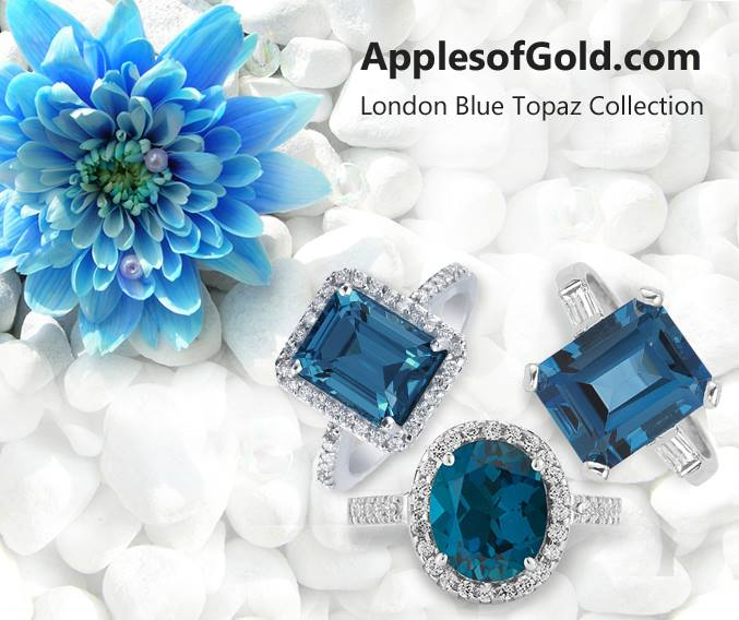 London blue topaz jewelry collection