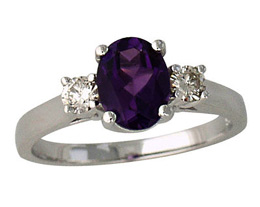 Luxury Amethyst Ring