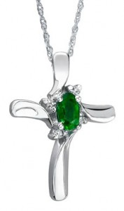 Emerald Necklace Pendant