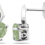 Green Amethyst Gemstone Jewelry