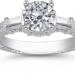 Moissanite Gemstone Fine Jewelry