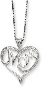Sterling Silver Necklace for Mom