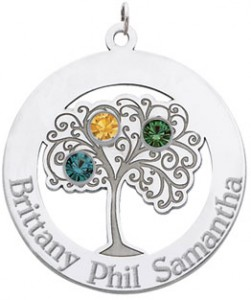 Personalized Pendant for Mom