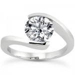 Beautiful Diamond Engagement Rings by Apples of Gold