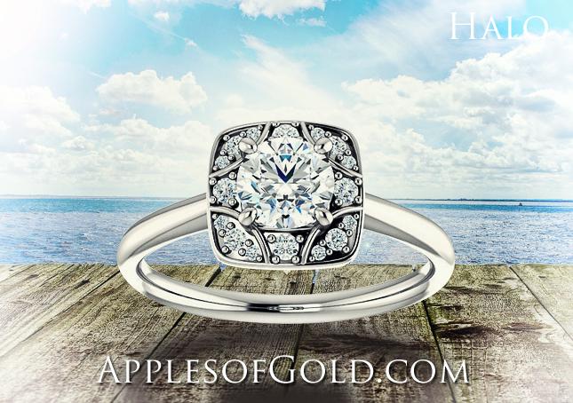 halo-diamonds
