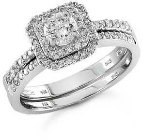 Diamond Bridal Wedding Ring Sets A Unified Picture of Beauty