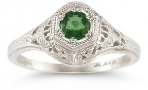 Make Her Happy With A Valuable Vintage Gemstone Ring 1