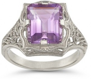 Make Her Happy With A Valuable Vintage Gemstone Ring 2