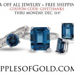Give Thanks! Apples of Gold Jewelry Coupon