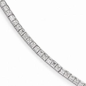 princess-cut-sterling-silver-cz-tennis-bracelet-qg3494-7C