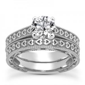 engraved-heart-diamond-bridal-ring-set-white-gold-ENS3612WSETC
