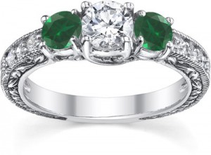 antique-style-emerald-and-diamond-engagement-ring-QDR-5-EMDWC