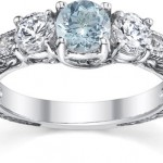 Aquamarine Engagement Rings: Pools of Beauty
