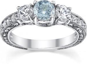 antique-style-three-stone-diamond-and-aquamarine-engagement-ring-QDR-5-DAQWC