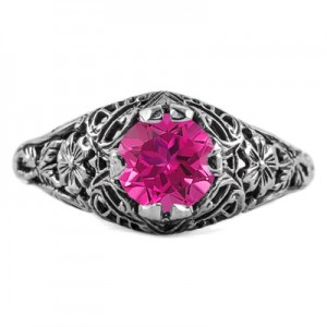 floral-edwardian-style-pink-topaz-ring-R058PTC
