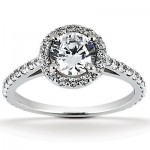 Halo Engagement Rings: Heavenly!