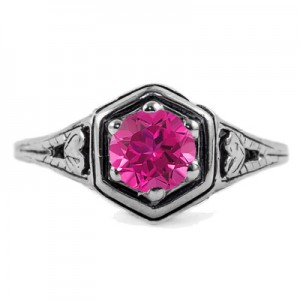heart-design-vintage-style-pink-topaz-ring-R012PTC