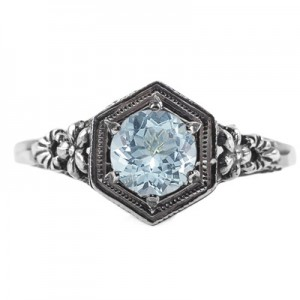 vintage-floral-design-aquamarine-ring-R079AQC